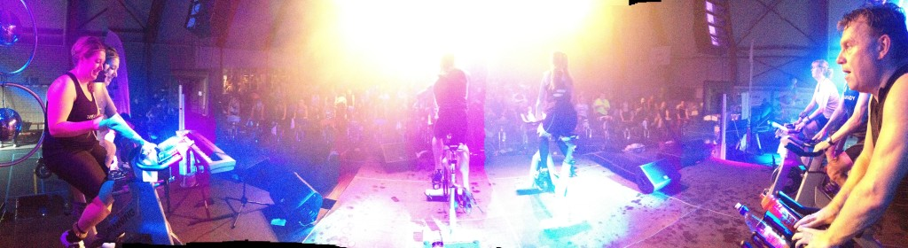view on stage