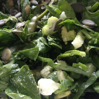 Groene Sap-Soep-Salade Dag